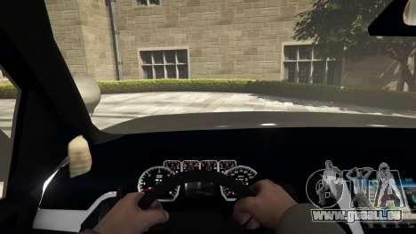 GTA 5 Chevrolet Suburban Sheriff 2015 Rückansicht