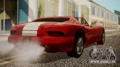 Banshee Edition 2015 pour GTA San Andreas laissé vue