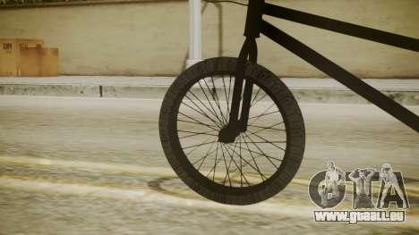 BMX Poland pour GTA San Andreas sur la vue arrière gauche