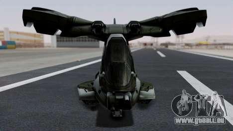 Hornet Halo 3 pour GTA San Andreas