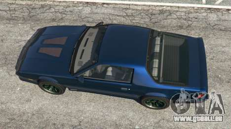 GTA 5 Chevrolet Camaro IROC-Z [Beta 2] vue arrière