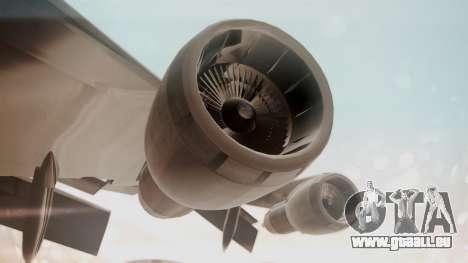 Boeing 747SR All Nippon Airways (NC) für GTA San Andreas Rückansicht