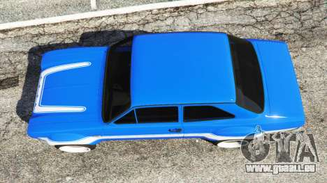 Ford Escort Mk1 v1.1 [blue] für GTA 5