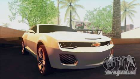 Chevrolet Camaro DOSH Tuning v0.1 Beta für GTA San Andreas