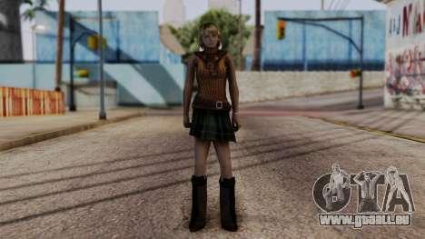 Resident Evil 4 Ultimate HD - Ashley Graham für GTA San Andreas zweiten Screenshot