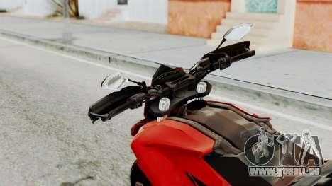 Ducati Hypermotard pour GTA San Andreas vue arrière