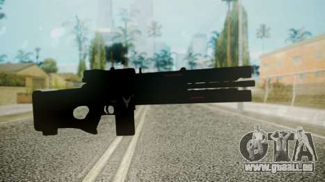 VXA-RG105 Railgun without Stripes pour GTA San Andreas