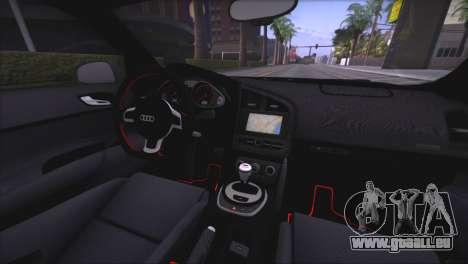 Audi R8 GT 2012 Sport Tuning V 1.0 für GTA San Andreas