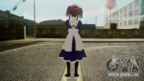 Mey-Rin [Kuroshitsuji] pour GTA San Andreas troisième écran