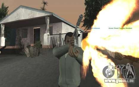 GTA 5 Tec-9 pour GTA San Andreas neuvième écran