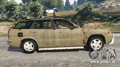 GTA 5 Daewoo Nubira I Wagon CDX US 1999 [Rusty] linke Seitenansicht
