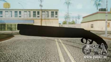 Sawnoff Shotgun (Iron Version) pour GTA San Andreas deuxième écran