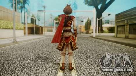 Dynasty Warriors 8 - Sun ShangXian (DLC ROTTK) pour GTA San Andreas troisième écran