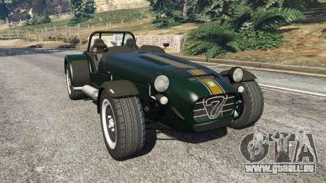 Caterham Super Seven 620R für GTA 5