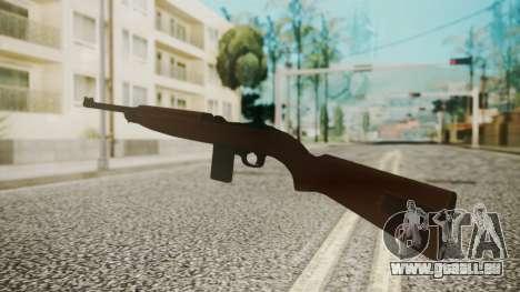 M1 Carbine pour GTA San Andreas troisième écran
