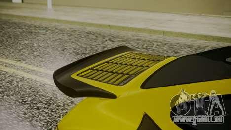 RUF CTR Yellowbird 1987 für GTA San Andreas Rückansicht