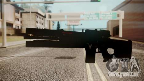 VXA-RG105 Railgun Shark für GTA San Andreas zweiten Screenshot