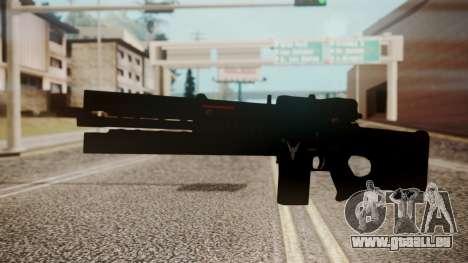 VXA-RG105 Railgun Shark pour GTA San Andreas deuxième écran