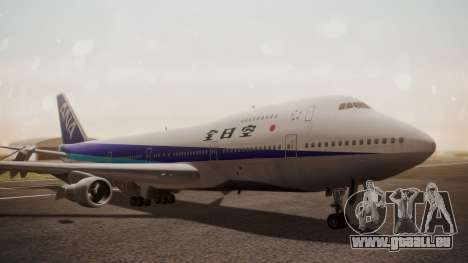 Boeing 747SR All Nippon Airways (NC) für GTA San Andreas