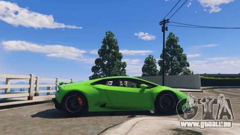 GTA 5 LibertyWalk Lamborghini Huracan linke Seitenansicht
