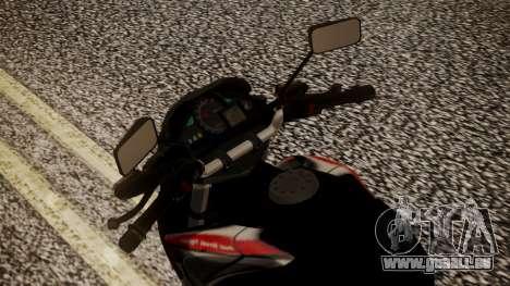 New Mega Pro für GTA San Andreas Rückansicht