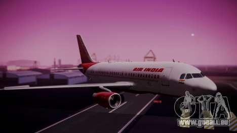 Airbus A319-100 Air India pour GTA San Andreas
