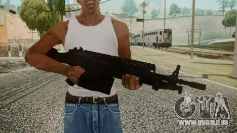 M249 Battlefield 3 für GTA San Andreas