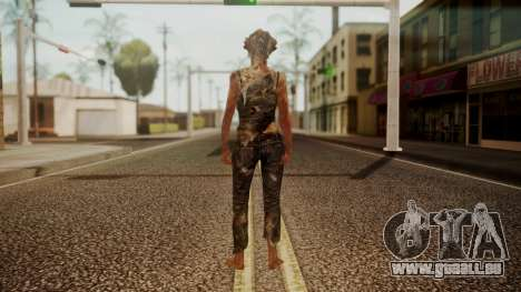 Clicker - The Last Of Us pour GTA San Andreas troisième écran