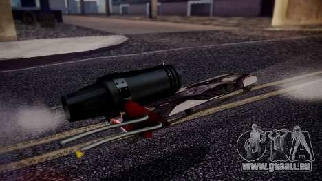 Hovercraft Vocaloid pour GTA San Andreas sur la vue arrière gauche