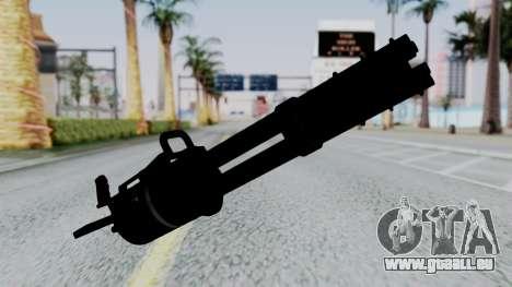 M134 Minigun pour GTA San Andreas