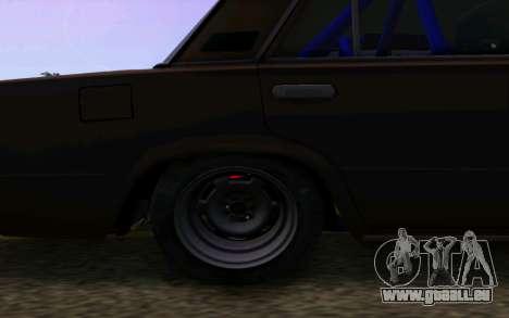 VAZ 2101 Auto für GTA San Andreas Rückansicht