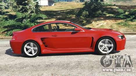 BMW M6 (E63) pour GTA 5