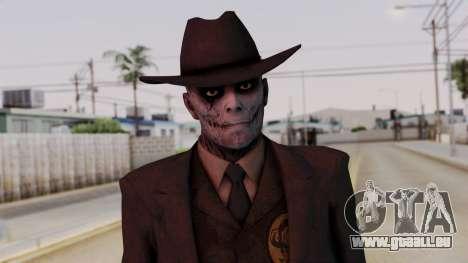 SkullFace Hat für GTA San Andreas