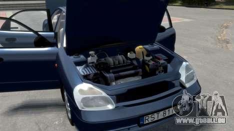Daewoo Nubira II Sedan S PL 2000 pour le moteur de GTA 4