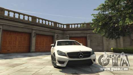Mercedes-Benz CLS 6.3 AMG [BETA] pour GTA 5