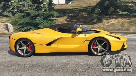 GTA 5 Ferrari LaFerrari 2013 v3.0 vue latérale gauche