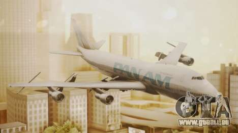 Boeing 747-100 Pan Am Clipper Juan T. Trippe pour GTA San Andreas