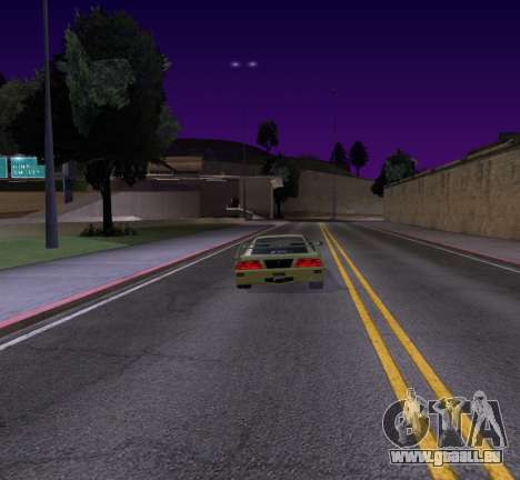 Need for Speed Cam Shake pour GTA San Andreas