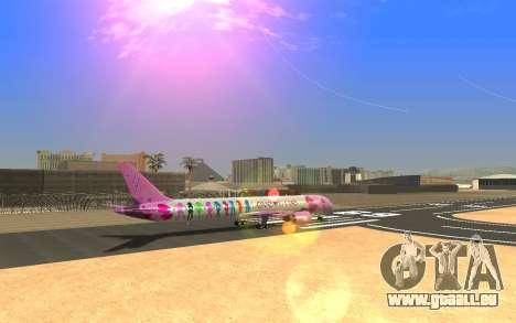 LoveLive Boeing 787-9 Livery pour GTA San Andreas laissé vue