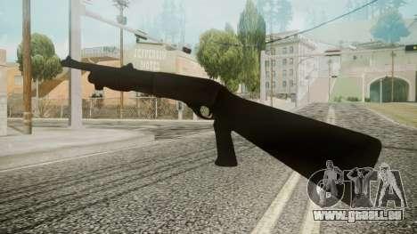 MCS 870 Battlefield 3 pour GTA San Andreas troisième écran