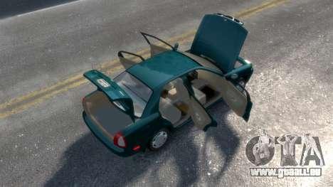 Daewoo Nubira I Sedan SX USA 1999 pour GTA 4 est un côté