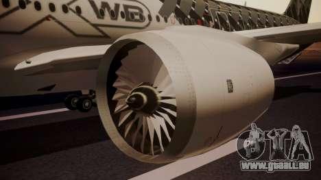 Airbus 350-900XWB MSN2 Carbon Livery für GTA San Andreas rechten Ansicht