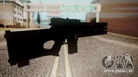 VXA-RG105 Railgun Shark pour GTA San Andreas troisième écran