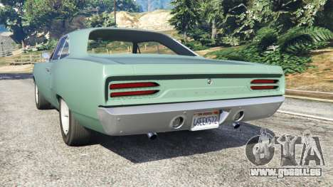 Plymouth Road Runner 1970 [fix] pour GTA 5