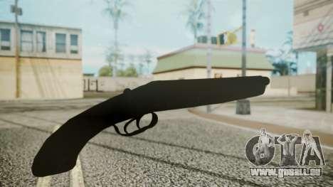 Sawnoff Shotgun (Iron Version) pour GTA San Andreas troisième écran