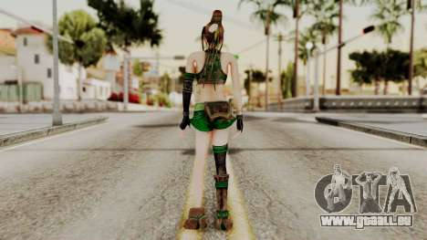 Dynasty Warriors 8 - Bao Sannian Green Costume pour GTA San Andreas troisième écran