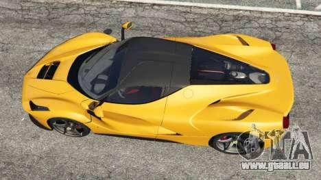 GTA 5 Ferrari LaFerrari 2013 v3.0 vue arrière