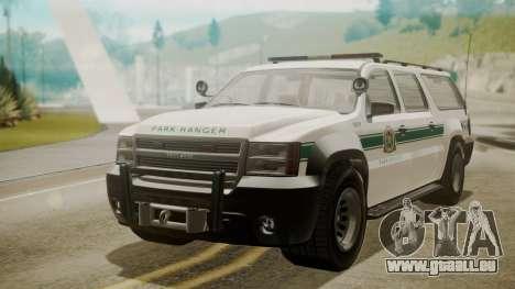 GTA 5 Declasse Granger Park Ranger für GTA San Andreas