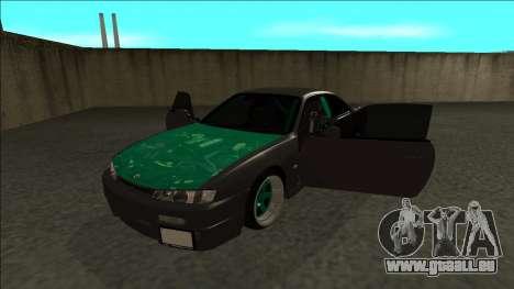 Nissan 200sx Drift pour GTA San Andreas vue arrière