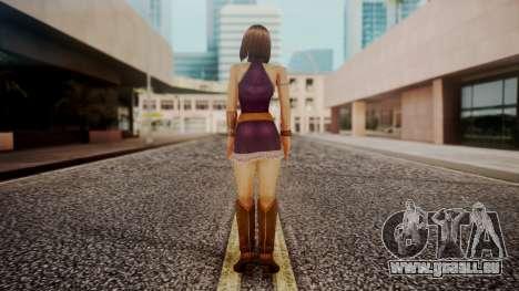 Alice the Rabbit from Bloody Roar pour GTA San Andreas troisième écran